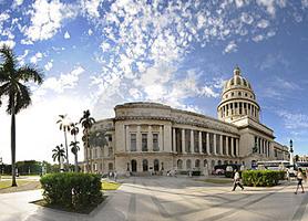 Building Havana Capitol