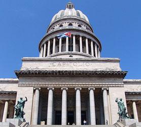 Capitolio Havana Entrance
