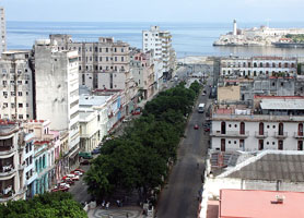 Prado Avenue Old Havana